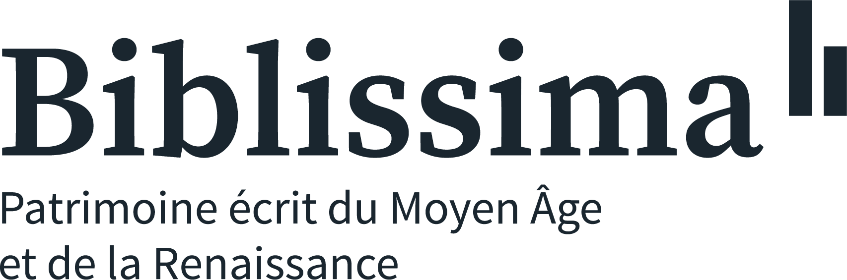 Logo de Biblissima