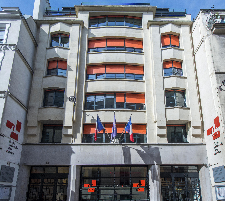 Façade du 65, rue de Richelieu