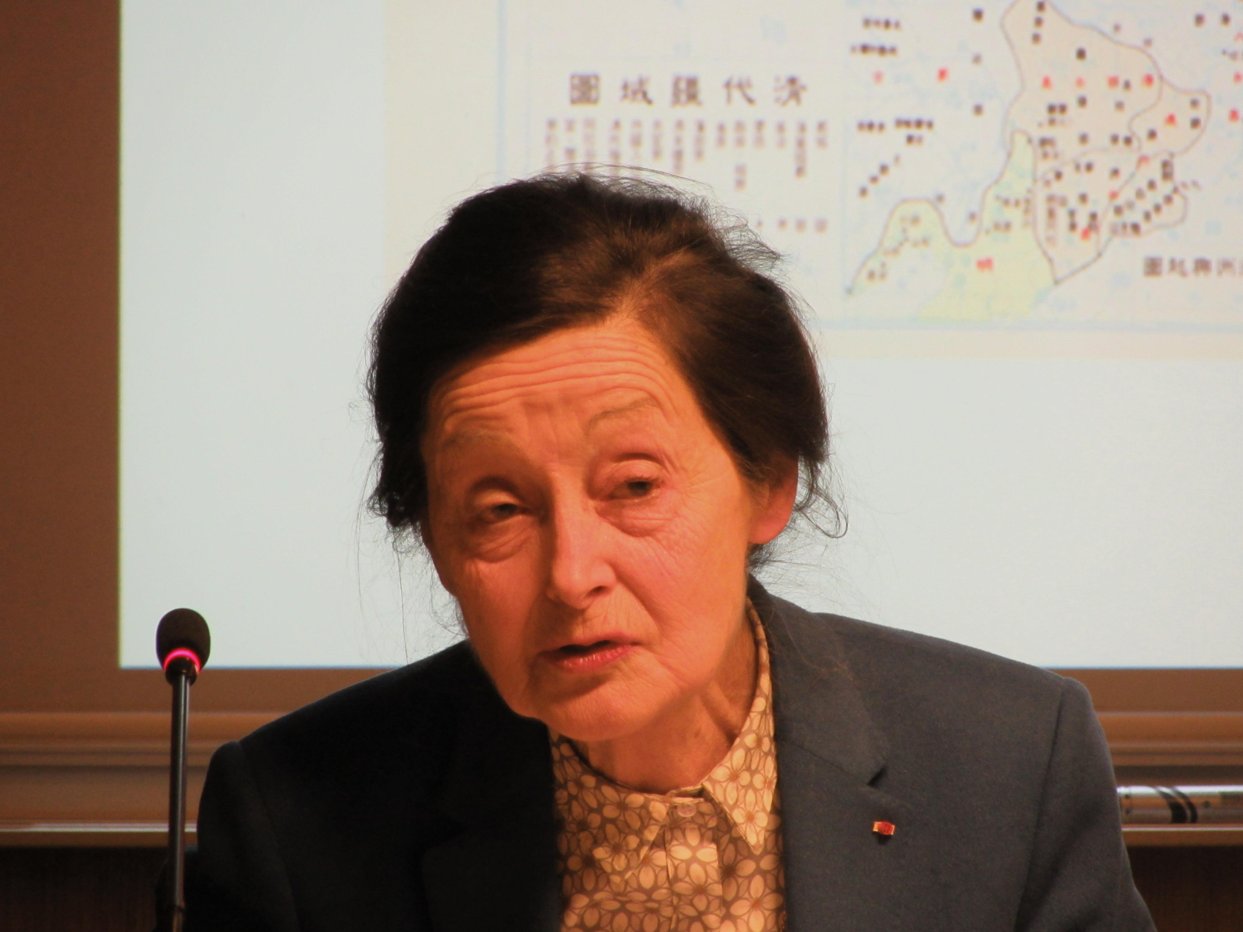 Conférence de Marianne Bastid-Bruguière sur «L'impératrice Cixi et la Chine moderne»