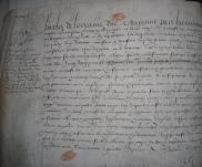 Lettres patentes du duc de Mayenne, lieutenant général de l'Etat royal et couronne de France, Paris, 12 décembre 1591 (extrait)