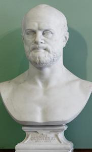 Le buste de Jules Quicherat par Jean Petit (1819-1903)