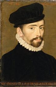 Nicolas IV de Neufville de Villeroy, seigneur de Villeroy. Huile sur bois, Paris, musée du Louvre