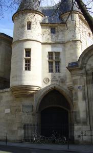 La porte de l'hôtel de Clisson, entrée de l'École de 1846 à 1866