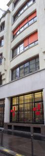 Façade de l'École, au 65, rue de Richelieu.