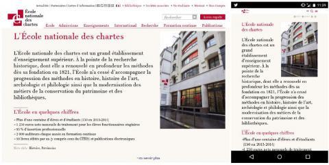 Site responsive Richelieu