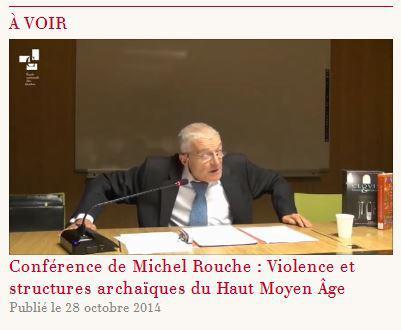 Vidéo Michel Rouche