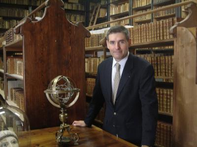 Jean-François Delmas à la bibliothèque Inguimbertine