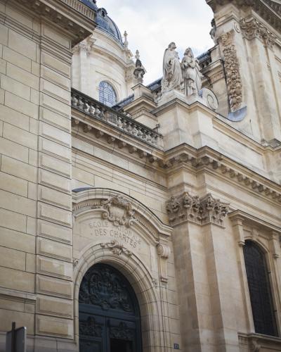 Entrance of the School at 19, Rue de la Sorbonne 75005 Paris