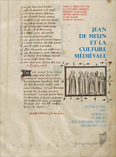 Couverture de l'ouvrage Jean de Meun et la culture médiévale