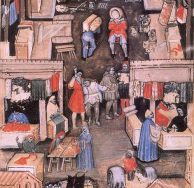 Matricola della Società dei Drappieri, 1411, Bologna, Museo Civico Medievale, ms. 641, c. 1r
