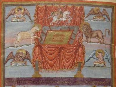 Première Bible de Charles le Chauve Paris, BnF lat. 1, f. 415v