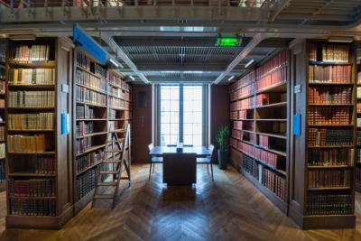 Magasins de la bibliothèque