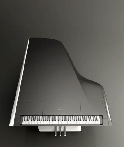 Piano pour la Manufacture Pleyel conçu par Peugeot Design Lab