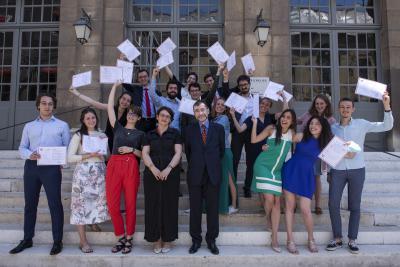 Cérémonie 2021 de remise des diplômes d'archiviste paléographe