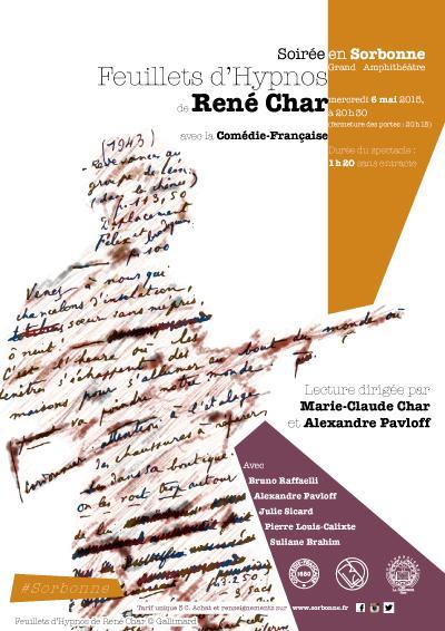 Affiche Rene Char