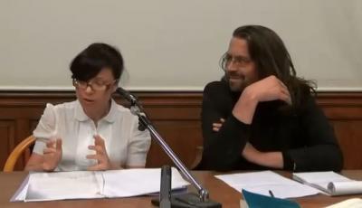 Agnès Callu et Christian Ingrao