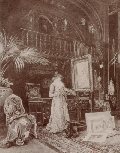 Atelier de Sarah Bernhardt