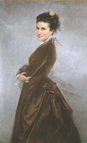 Autoportrait de Nélie Jacquemart