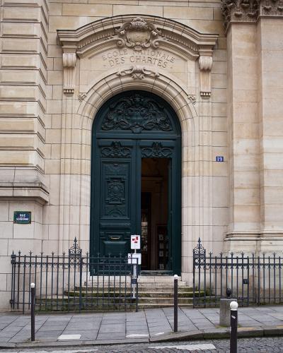 Façade de l'École au 19, rue de la Sorbonne