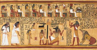 Papyrus d'Ani, vers 1200 avant notre ère (Nouvel Empire)