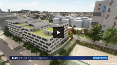 Reportage de France 3 sur le Campus Condorcet
