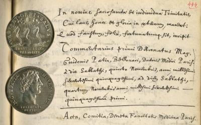 Extrait des Commentaria saluberrimæ Facultatis Medicinæ Parisiensis (1650-1652), Guy Patin