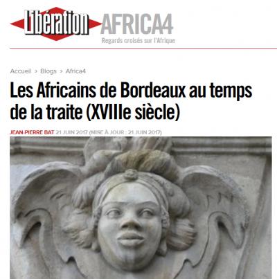 Entretien avec Julie Duprat dans Libération