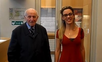 Michel Duchein et Angelica Alves da Cunha Marques