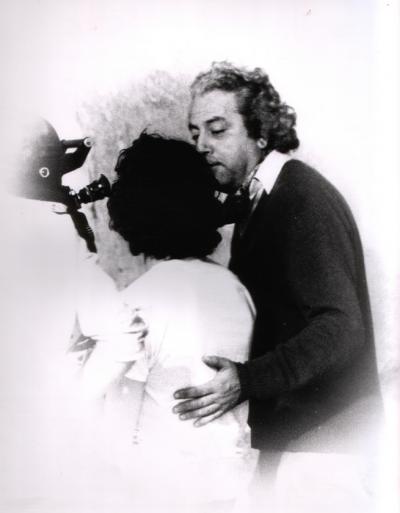 Jean Douchet en tournage