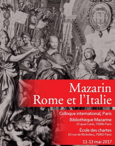 Mazarin, Rome et l'Italie