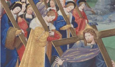 Le mystique portement de la croix, Henri II de Navarre, sa femme et sa Cour, L'Initiatoire instruction en la religion chrestienne pour les enffans