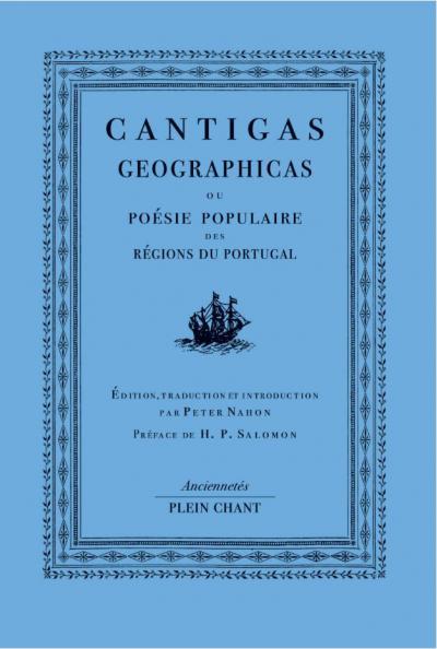 Couverture de l'ouvrage Cantigas geographicas