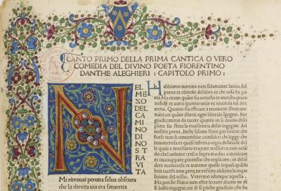 La Divina commedia di Dante Alighieri / col commento di Cristoforo Landino Dante Alighieri (1265-1321)
