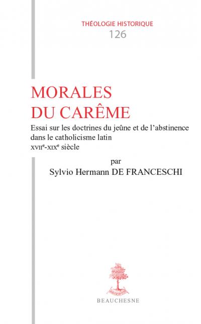 Couverture de l'ouvrage Morales du Carême