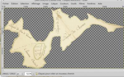 Géolocaliser des cartes anciennes: procédure