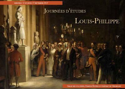 Auguste Vinchon, «Le roi Louis-Philippe et la famille royale, visitant les Galeries historiques du musée de Versailles», 1848