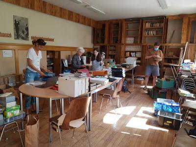 Chantier-école de traitement des archives de l'association Action chrétienne en Orient, à Strasbourg