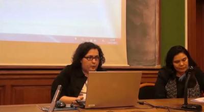 Conférence de Diana Garibashvili sur Albert Zakharovich Manfred, historien soviétique