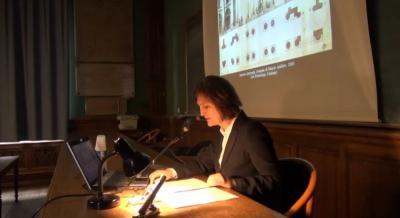Conférence de Letizia Tedeschi sur l'architecture italianisante à Saint-Pétersbourg