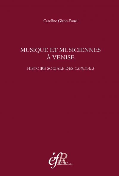 Couverture de Musique et musiciennes à Venise