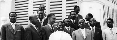 Chefs d'État africains, conférence de Brazzaville, décembre 1960