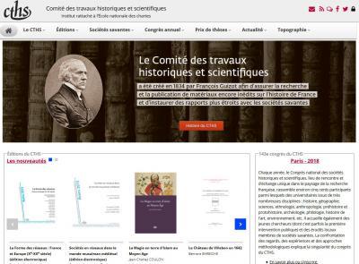 Nouveau site web du Cths