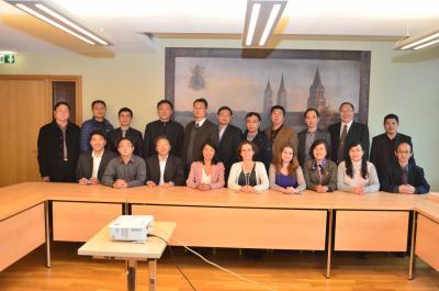 L'École accueille une délégation d'archivistes de la province du Jiangsu en Chine