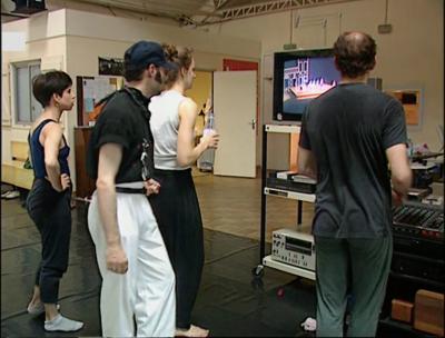 Documentaire «Le Saut de l'ange», Charles Picq (réalisateur), 1993, Fonds D. Bagouet-Carnets Bagouet