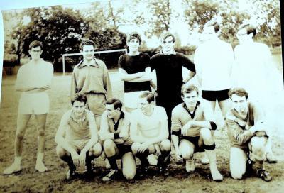 Équipe de football de l'École des chartes - 10 avril 1969