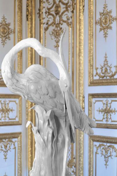 Exposition «La Fabrique de l'Extravagance.Porcelaines de Meissen et de Chantilly», organisée au Domaine de Chantilly
