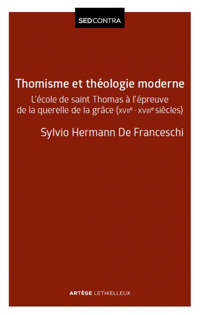 Couverture de l'ouvrage Thomisme et théologie moderne
