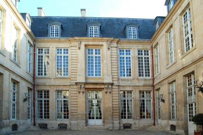 Hôtel de Guénégaud (vue de la cour)