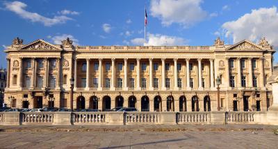 L'hôtel de la Marine à Paris, siège de la Fondation pour la mémoire de l'esclavage