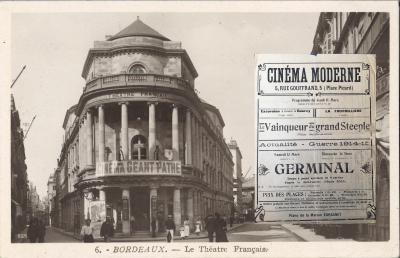 Cinéma à Bordeaux et affiche